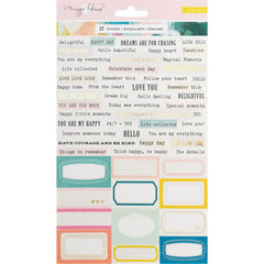 Chasing Dreams Phrase Stickers-Crate Paper