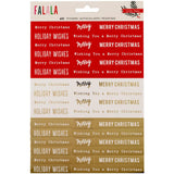 Phrase Stickers FaLaLa-Crate Paper