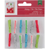 Mini Clothespins-American Crafts