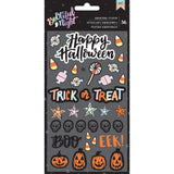 Bootiful Night Puffy Stickers-American Crafts Halloween