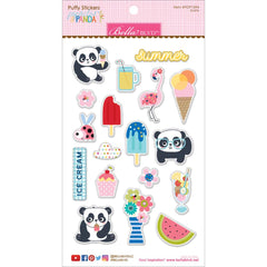 Popsicles & Pandas Icons Puffy Stickers-Bella Blvd