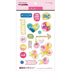 Make Your Mark Icons Puffy Stickers-Bella Blvd