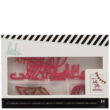 Have A Holly Jolly Christmas Red Phrase Set-Heidi Swapp Letterboard