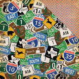 Road Signs 12x12 Paper-Carta Bella Are We There Yet