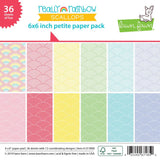 Really Rainbow Scallops 6x6 Petite Paper Pack Lawn Fawn