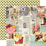 See The Beauty 12x12 Paper-Simple Stories Simple Vintage Garden District