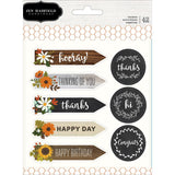 Warm & Cozy Sentiment Stickers-Pebbles Jen Hadfield