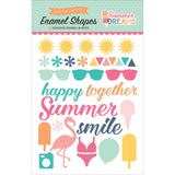 Summer Dreams Enamel Shapes Stickers-Echo Park