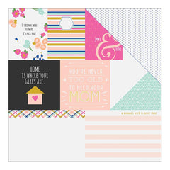 So Pretty 12x12 Paper-Fancy Pants Millie & June