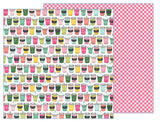 Soda Shop 12x12 Paper-Pebbles Girl Squad