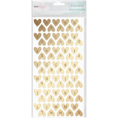Gold Foil Sparkling Thickers Dear Lizzy Fine & Dandy