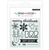 Snow & Cocoa Clear Stamp Set-Crate Paper