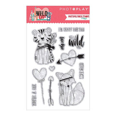 Clear Stamps-Wild Love-Photo Play Paper