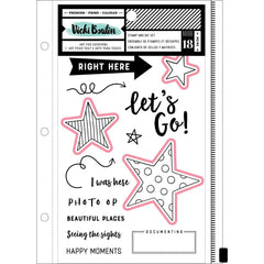 Stamp and Dies Set-Let's Wander-Vicki Boutin