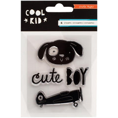 Cool Kid Mini Stamp Set-Crate Paper