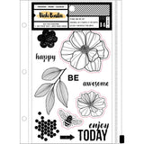 Stamps & Dies Set-Wildflower & Honey-Vicki Boutin