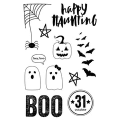 Boo Clear Stamps-Happy Haunting-Simple Stories
