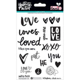 You Are Loved Clear Stamps-Bella Blvd Illustrated Faith