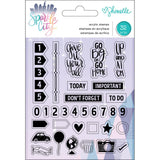Acrylic Stamps-Shimelle Sparkle City
