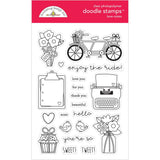 Love Notes Clear Stamps-Doodlebug