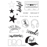 Acrylic Stamps-Simple Stories Bro & Co.