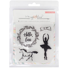 Acrylic Stamp Set-Crate Paper Maggie Holmes Gather