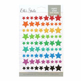 Puffy Rainbow Star Stickers-Elle's Studio