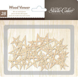 Stars Wood Veneer-Studio Calico Printshop