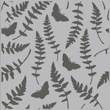 Butterfly Fern 6x6 Stencil-Simple Stories Vintage Great Escape