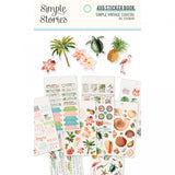 4x6 Sticker Book-Simple Vintage Coastal-Simple Stories