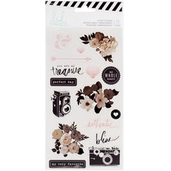 Magnolia Jane Clear Stickers-Heidi Swapp