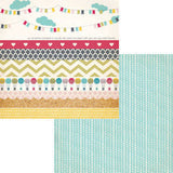 Strips 12x12 Double Sided Paper-Wonderful Day-Fancy Pants
