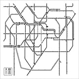Subway 6x6 Mini Template Stencil-Crafter's Workshop Mask
