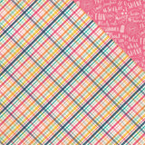 Summer Lovin' Plaid 12x12 Paper-Echo Park Summer Dreams
