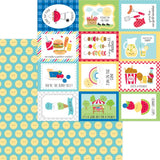 Summer Sun 12x12 Paper-Doodlebug Bar-B-Cute