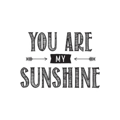 You Are My Sunshine-Cam & Chloe Wood Mounted Stamp
