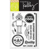 Super Cool Clear Stamps-Kelly Purkey Hero Arts