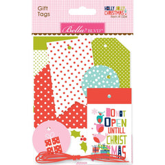 Holly Jolly Christmas Gift Tags-Bella Blvd