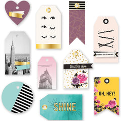Urban Chic Layered Tags-We R Memory Keepers