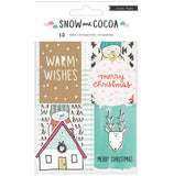 Snow & Cocoa Tags-Crate Paper