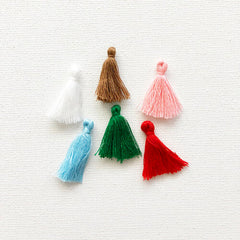 Mini Thread Tassels-Home For Christmas-Fancy Pants