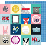 Think Big 12x12 Paper-Shimelle Little By Little