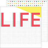 This Life 12x12 Paper-Pinkfresh Studio Life Noted