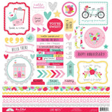 This & That Stickers Love Notes-Doodlebug