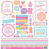 Fairy Tales This & That Cardstock Stickers-Doodlebug