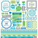 Dragon Tails This & That Cardstock Stickers-Doodlebug