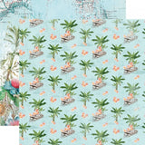 Tropical Life 12x12 Paper-Simple Stories Simple Vintage Coastal