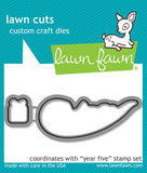 Year Five Otter Metal Dies-Lawn Fawn