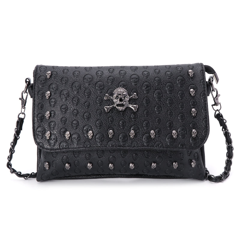 Gothic Skull Cross Body Bag. - Hidden Gem Bags & Accessories.