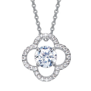 Swarovski Four Leaf Clover Pendant Necklace. - Hidden Gem Bags & Accessories.